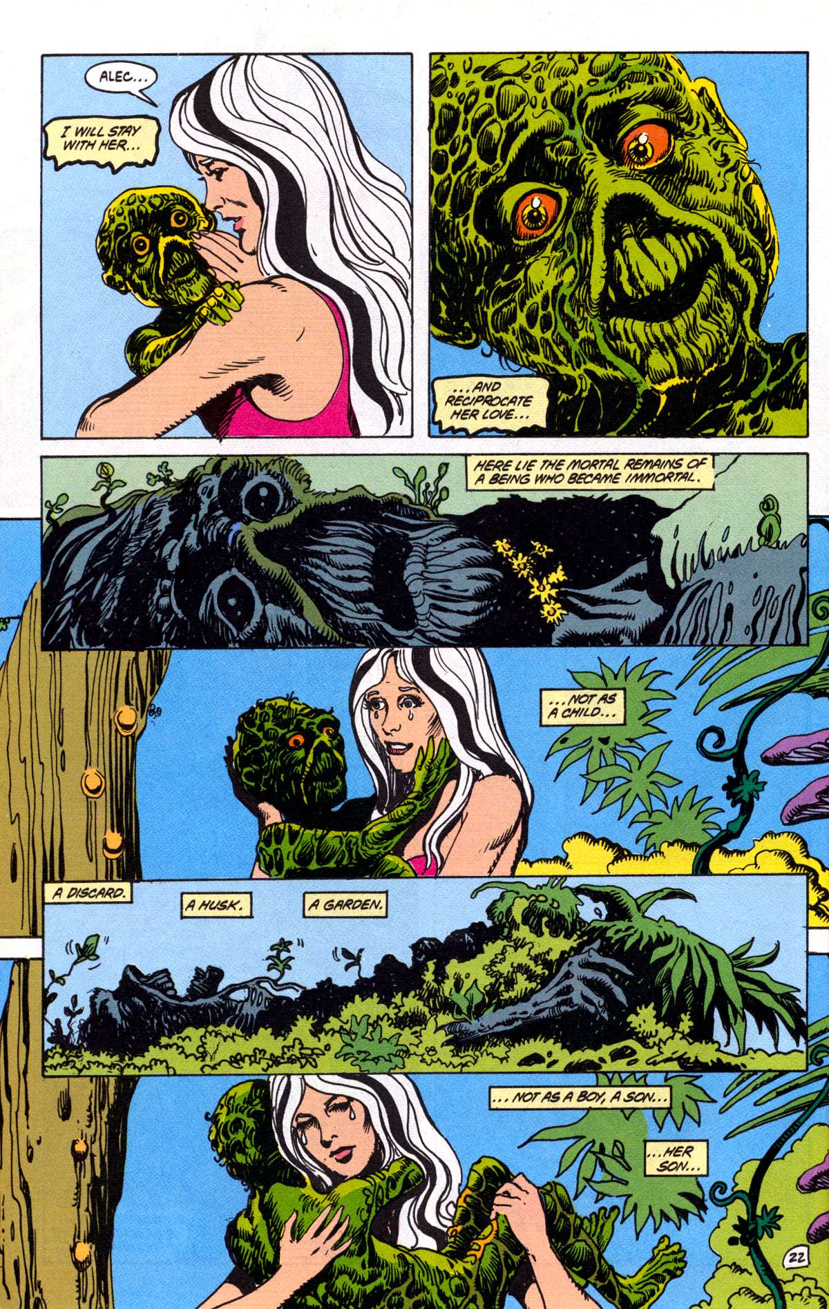 Swamp Thing (1982) Issue #78 #86 - English 23