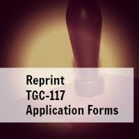 tgc 117 reprint