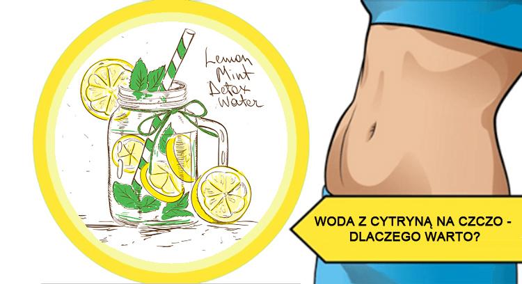 Znalezione obrazy dla zapytania woda z cytryną