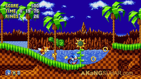 Free download Game Sonic Mania Full Version For PC with update last game terbaru gratis bundle booklet collector's edition free download full game 2017 www.akangsuhar.com