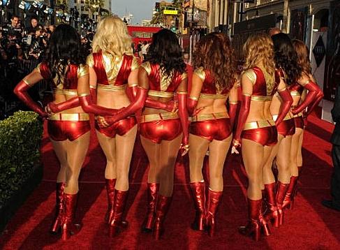 ironman girls in bikinis