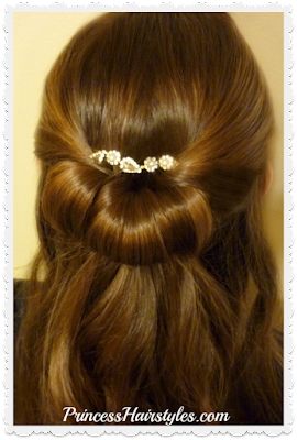 5 minute hairstyle for Prom, video tutorial.