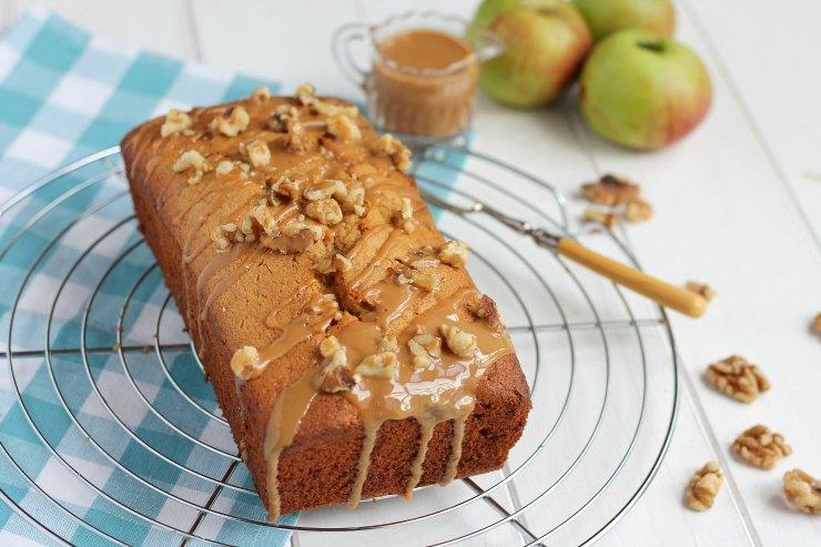 Caramel & Bramley Apple Loaf