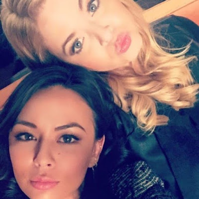 """Pretty Little Liars: The Perfectionists"" Spoilers: Sasha Pieterse and Janel Parrish"