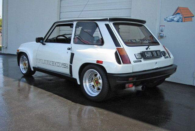 1984 renault r5 turbo ii primierauto. Black Bedroom Furniture Sets. Home Design Ideas