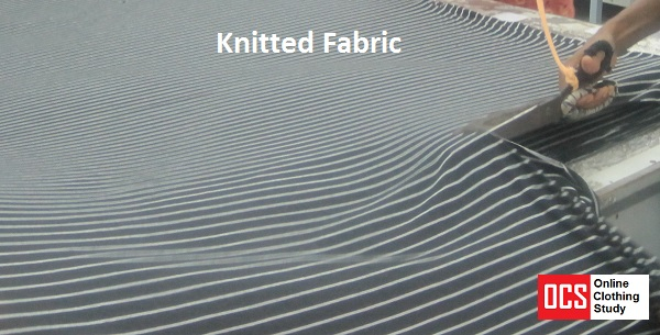 knitted fabric stripes