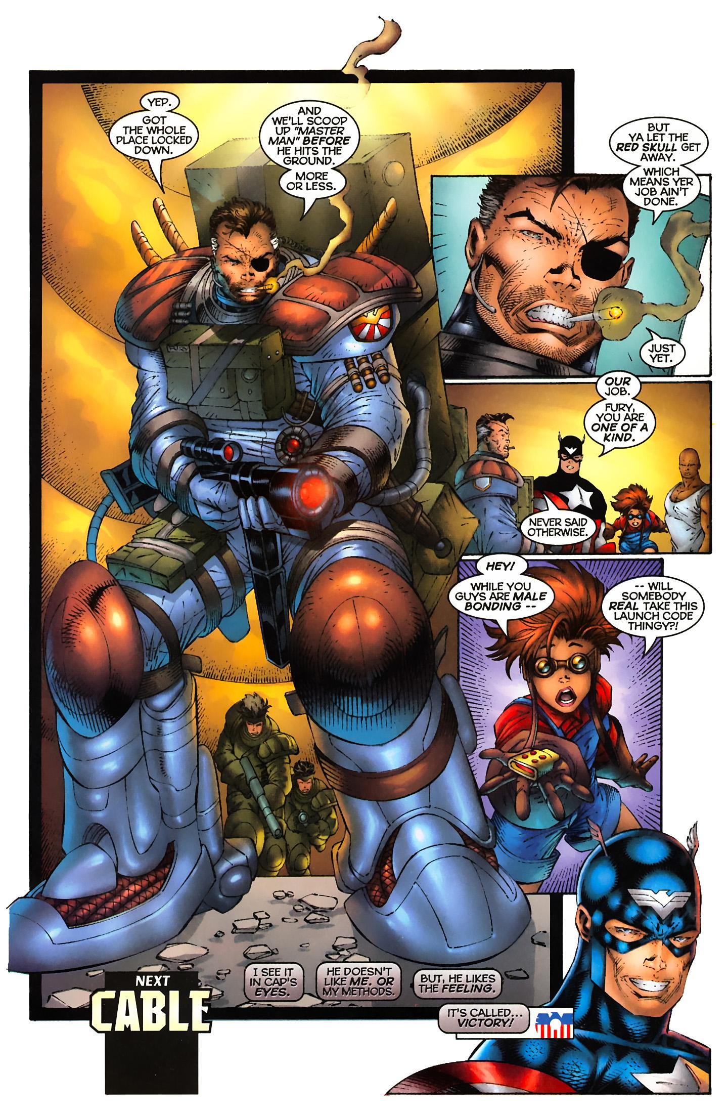Captain America (1996) Issue #5 #5 - English 22