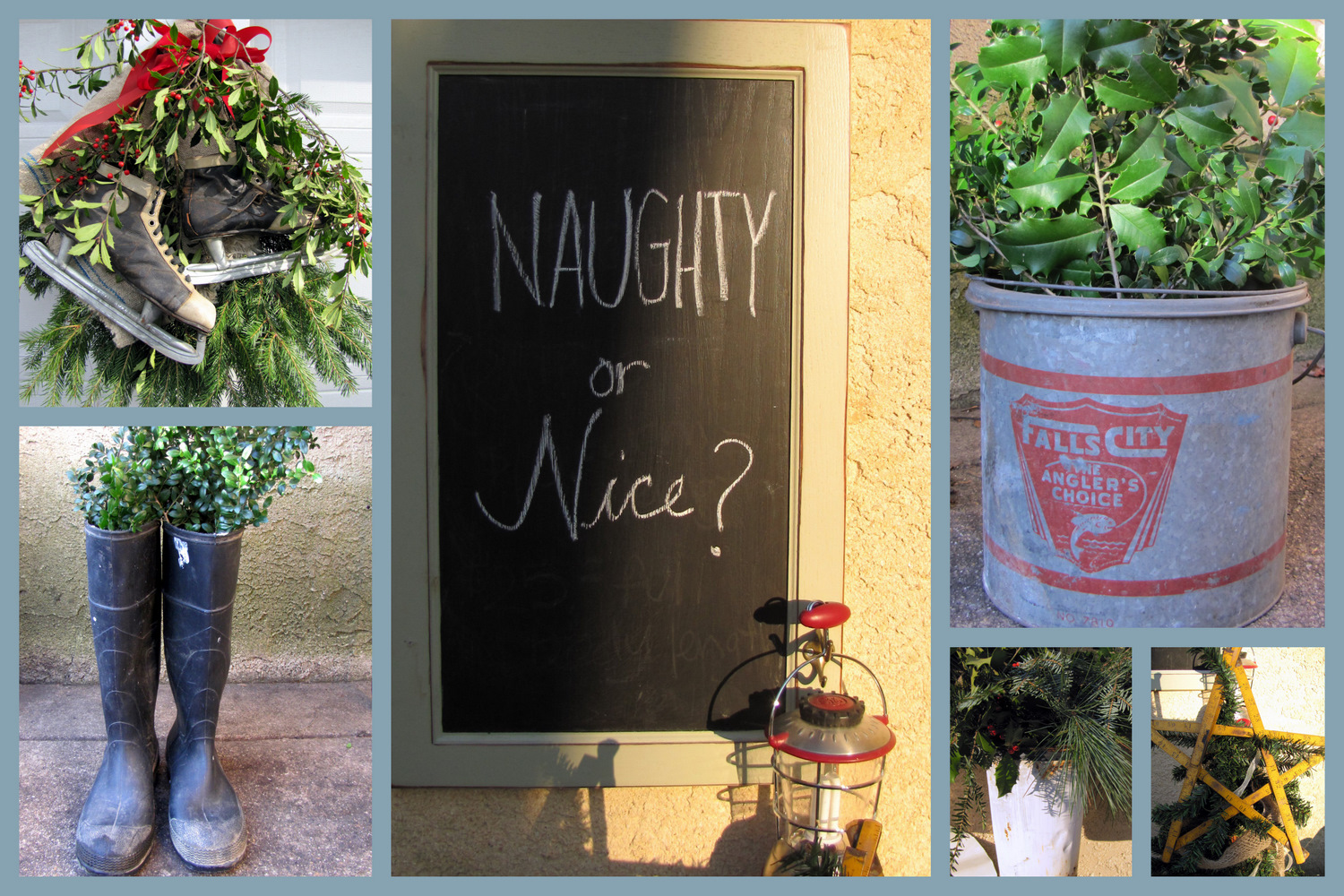 Outdoor Christmas Decorating The Painted Home By