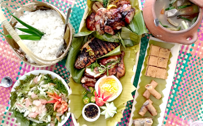 Fiesta sa Banig set-meal at RBG Bar and Grill this Kadayawan