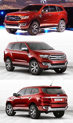 2015 Ford Everest Reviews