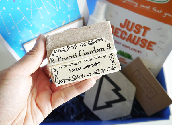 Vancity Subscription Box Forest Garden Natural Soap