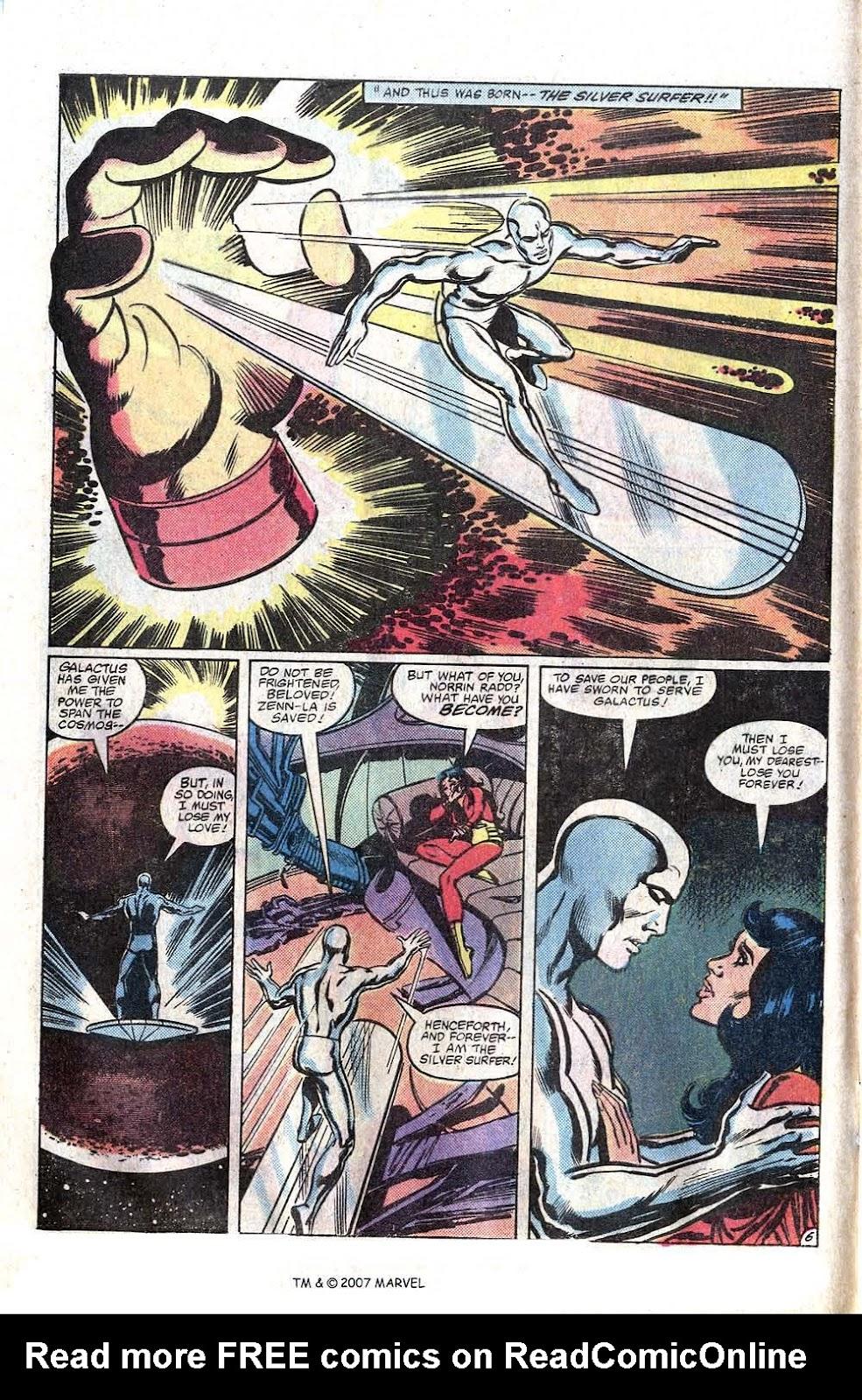 Silver Surfer (1982) Full #1 - English 8