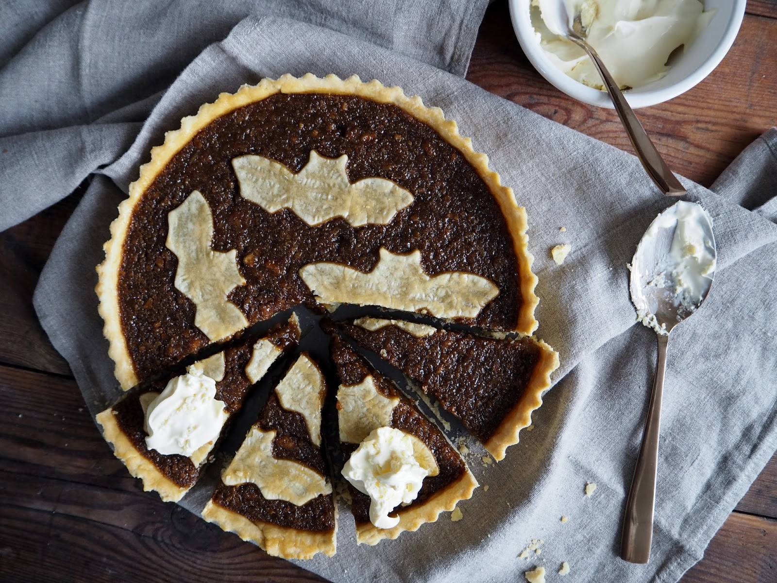 The Butter Treacle Tart recipe