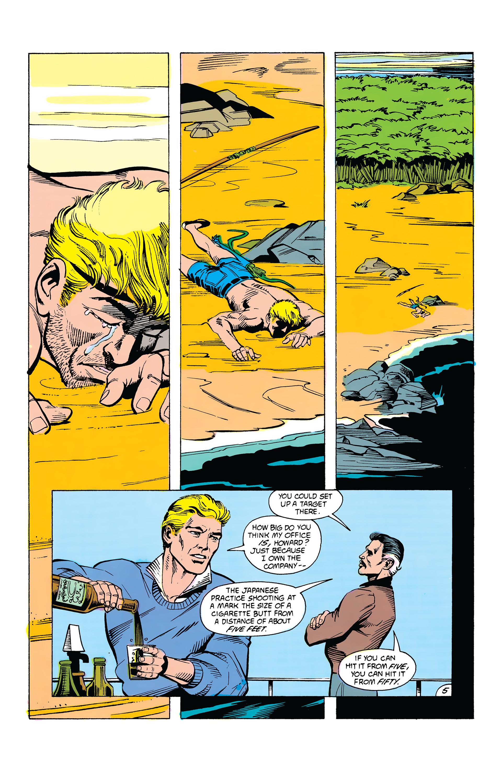 Read online Secret Origins (1986) comic -  Issue #38 - 5