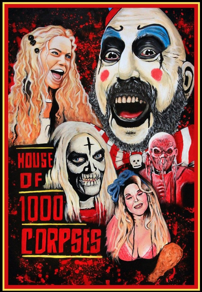 The Horrors of Halloween: HOUSE OF 1000 CORPSES (2003) Artwork / Poster Collection