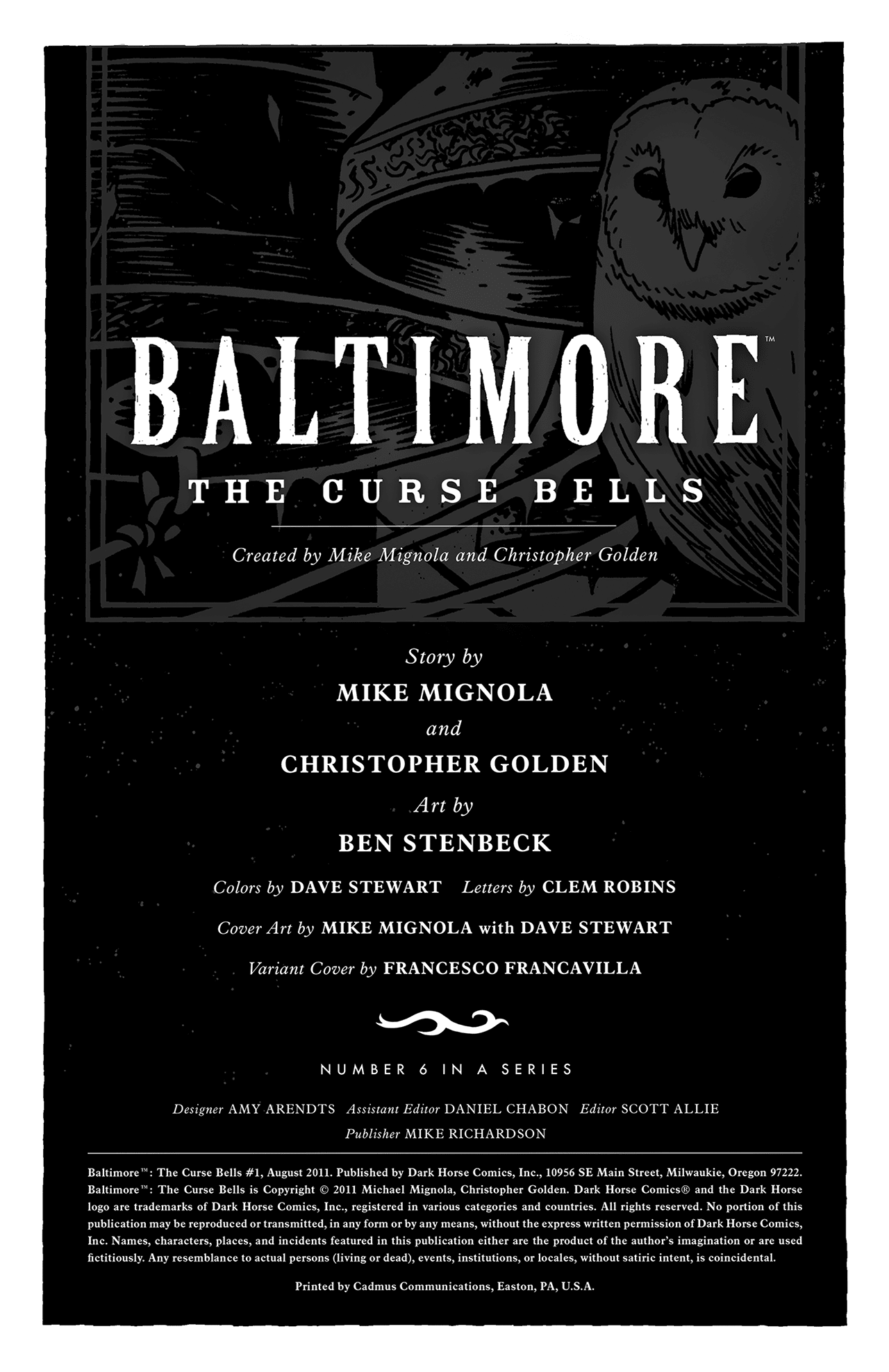 Read online Baltimore: The Curse Bells comic -  Issue #1 - 3