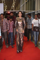 Actress Catherine Tresa in Golden Skin Tight Backless Gown at Gautam Nanda music launchi ~ Exclusive Celebrities Galleries 117.JPG