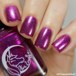 Nvr Enuff Polish In The Depths Collection Harpooned Swatches and Review