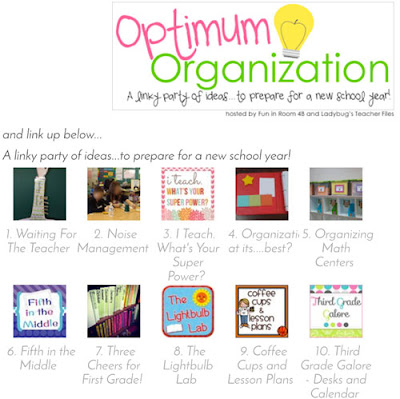 Ejemplo de blog hop: Optimum organization de Ladybug's teacher's files