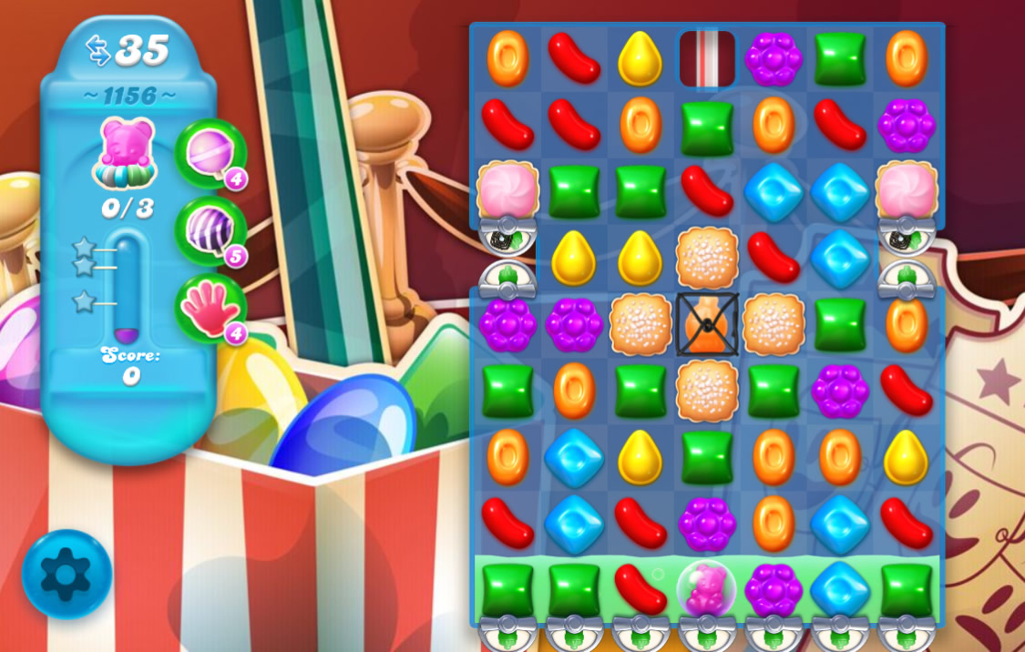Candy Crush Soda Saga level 1156