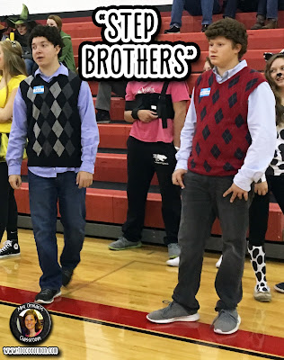 Halloween costumes: Step Brothers