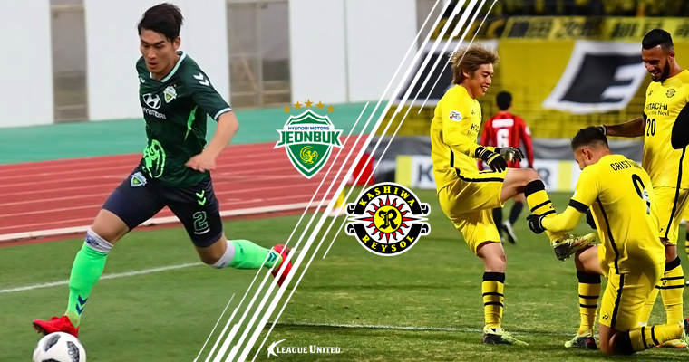 K League Champions Jeonbuk Hyundai Motors make their return to the AFC Champions League, facing off against J.League's Kashiwa Reysol in their first match in Group E