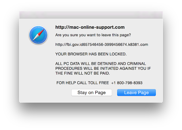 Apple Safari Security Alert