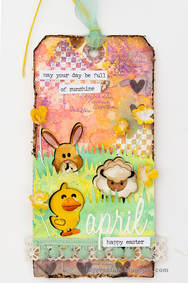 Pastel Easter Tag Tutorial