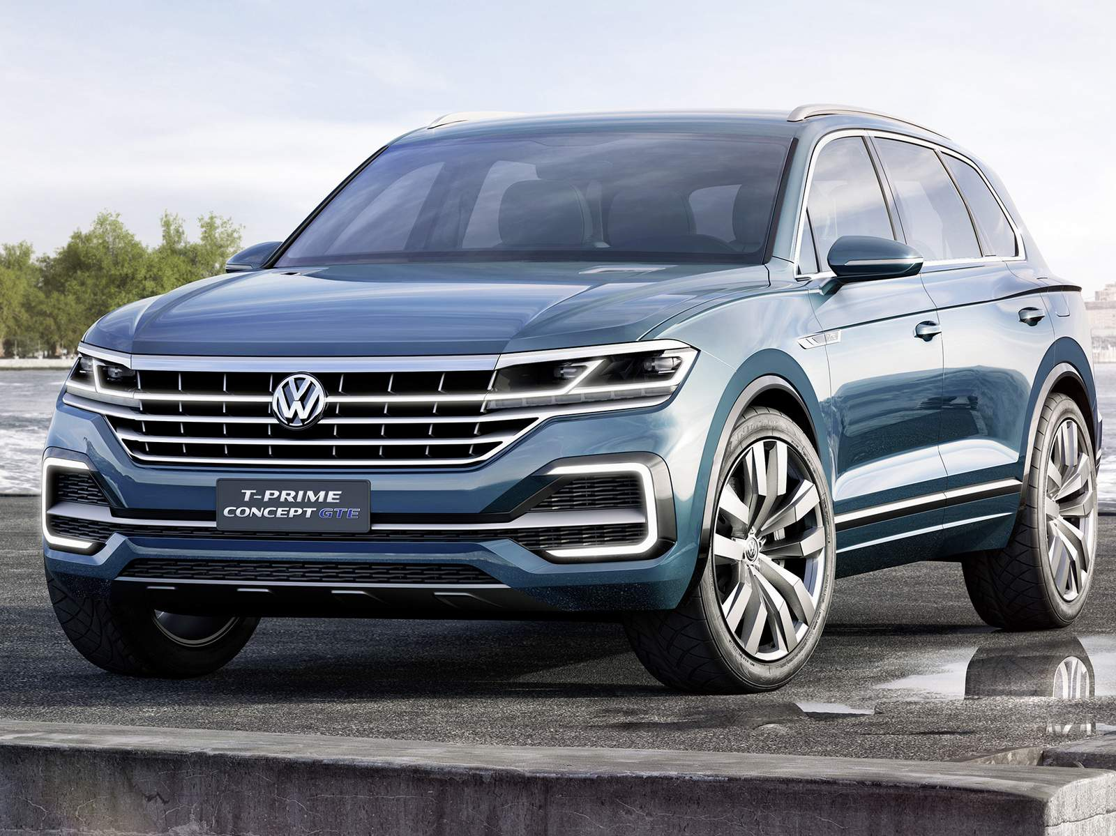vw touareg 2017 antecipada pelo t prime concept gte car blog br. Black Bedroom Furniture Sets. Home Design Ideas