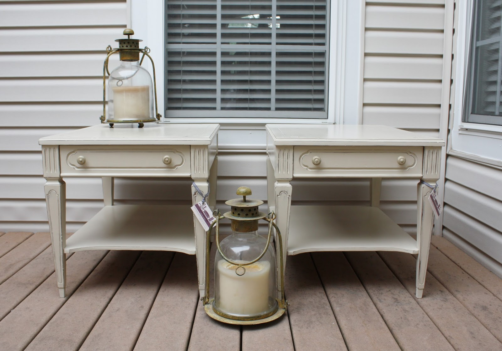 Vintage End Tables by Mersman