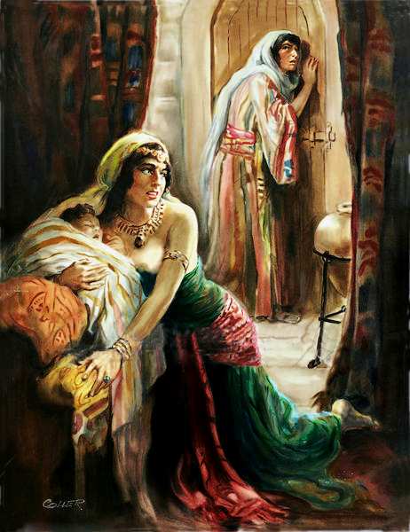 Jehosheba saved Joash from Athaliah (Death)