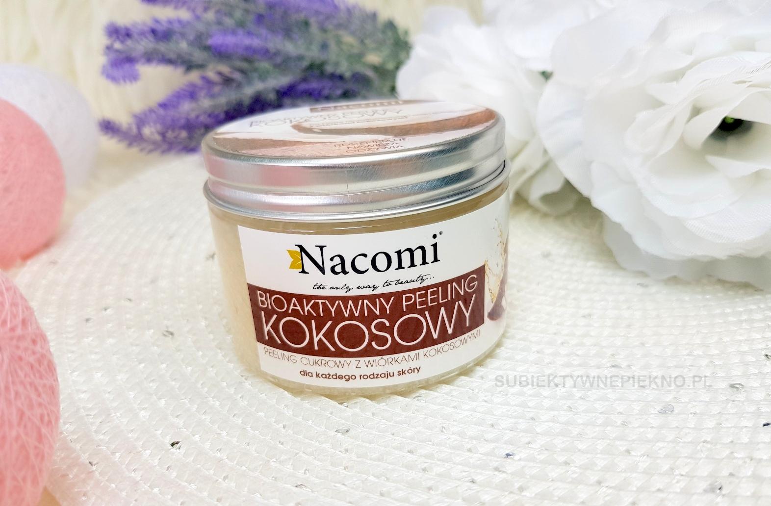 Kokosowy raj z peelingiem Nacomi