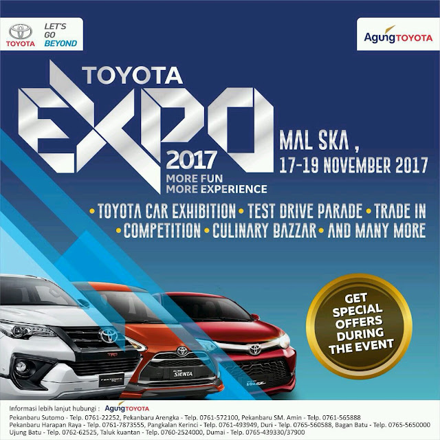 Toyota Expo Pekanbaru Riau