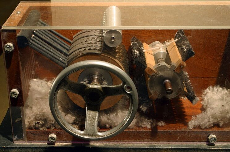 27 18th-Century World-Changing Inventions - The Cotton Gin the engine that made cotton production boom