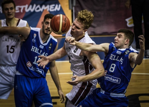 ΕΟΚ | Εθνική Εφήβων: Λετονία - Ελλάδα 80-74 για την 2η αγωνιστική του Α΄ Ομίλου του Ευρωπαϊκού Πρωταθλήματος