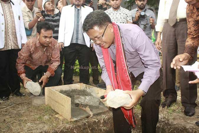 Presiden PKS Letakan Batu Pertama Pembangunan Kantor PKS Maluku