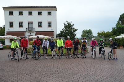 cycling from Cortina to Venice with Veloce bike rental shop