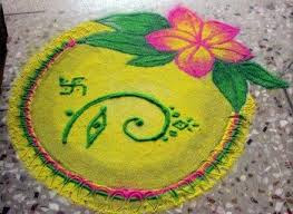 Images Of Easy Rangoli Designs For Diwali