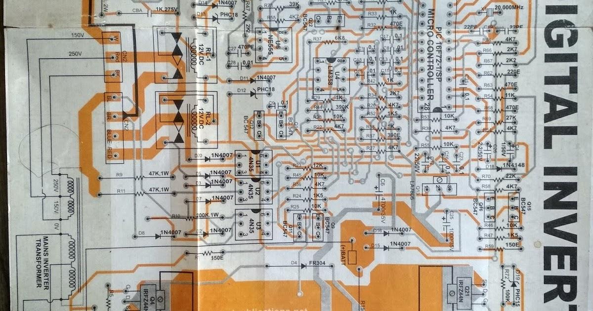 1000w Inverter Circuit Diagram Get Free Image About Wiring Diagram