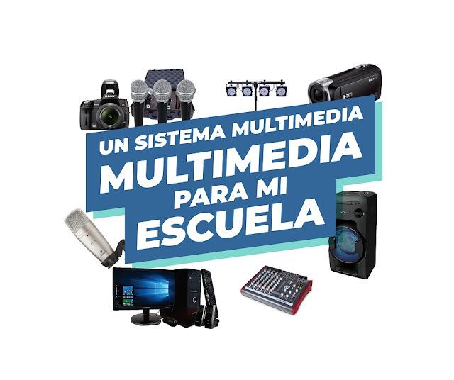 """Concurso """"Un sistema multimedia para mi escuela"""" hasta el 21 de septiembre"""