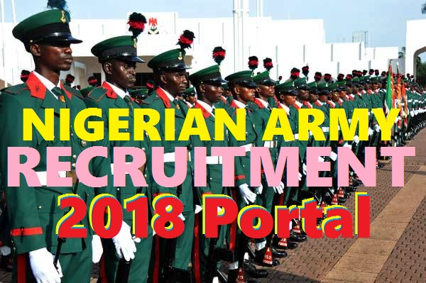 2018/2019 Nigerian Army Recruitment Form Filling Guide (RRI) – www