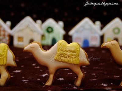 galleta camello de glasa