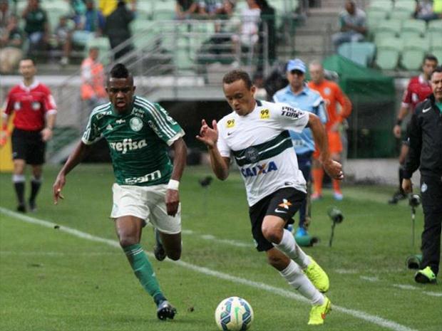 Reservas do Palmeiras perdem do Coritiba com pior público do Palestra d6b025d7243