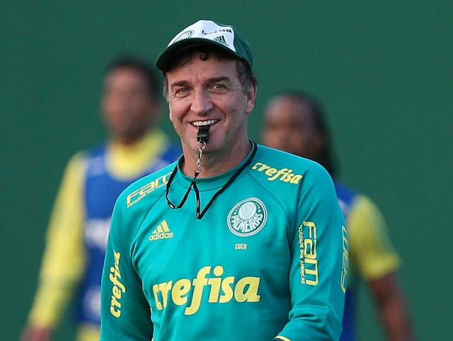 Cuca está de volta ao Palmeiras e contrato vai até final de 2018
