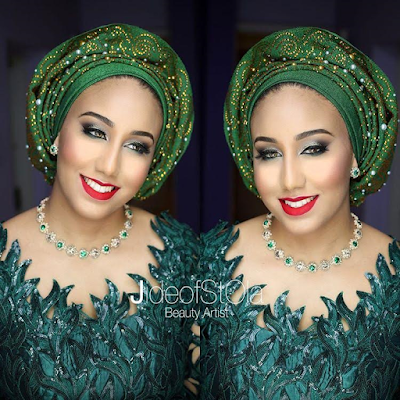 Lovely makeup photos of Samira, daughter of Minister of Environment, Amina Mohammed