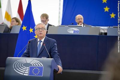 Debate sobre el estado de la Unión, Discurso, Jean Claude Juncker