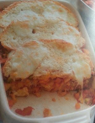 Finta lasagna al ragù di verdure