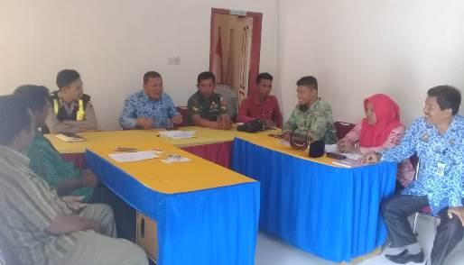 Kadis Pertanian, Pimpin Koordinasi Petani dan Peternak di Desa Laiyolo