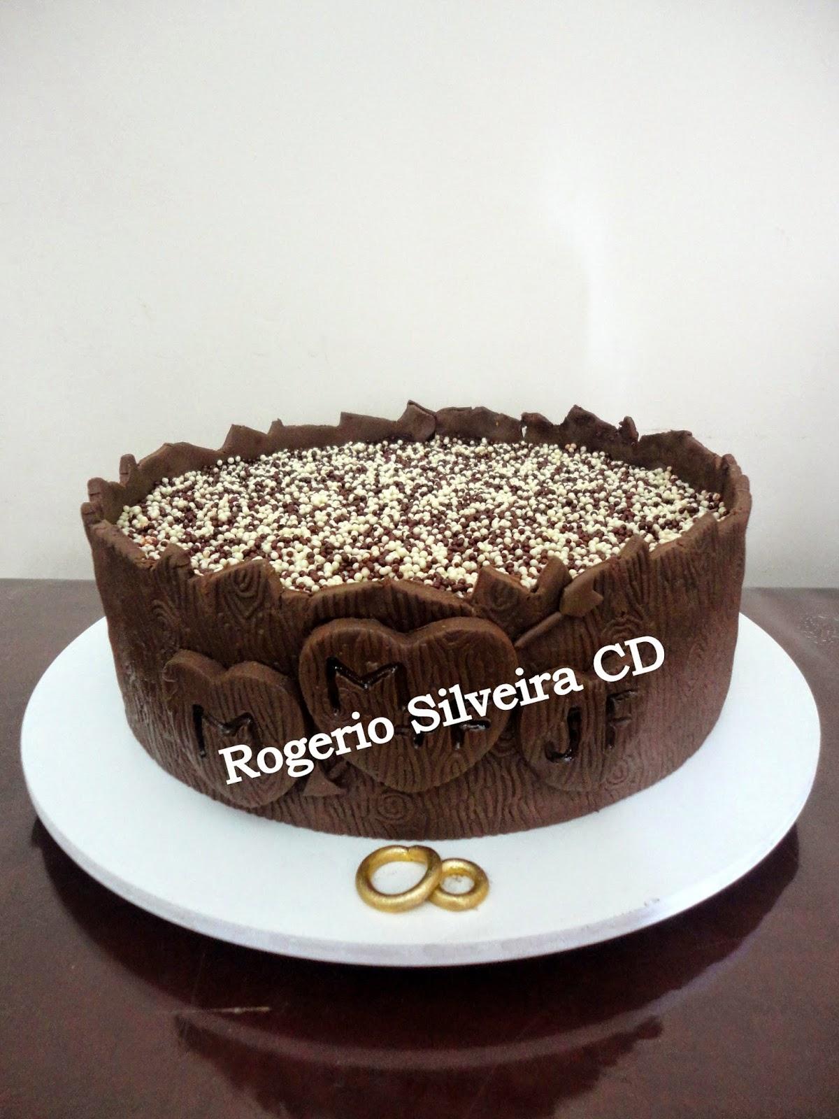 Rogerio Cake Designer: Bolo Bodas de Madeira #947638 1200x1600