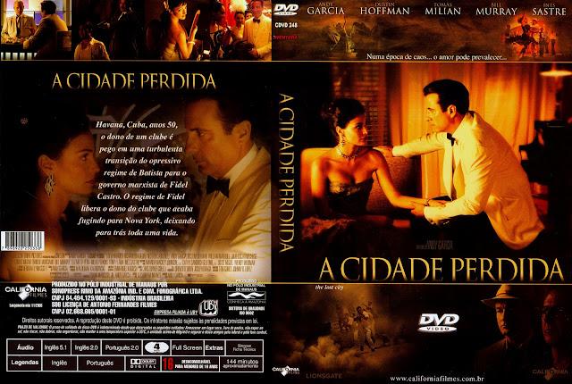 Capa DVD A Cidade Perdida